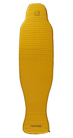 Nordisk Grip 2.5 zelf-opblaasbare slaapmat Large geel/zwart